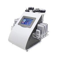 Горячая распродажа 6 в 1 KIM 8 Shally System System Cellulite Reduct Substrite 40k кавитация RF похудение