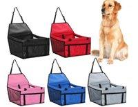 Wasserdichte Haustier Hundeträger Oxford Haustier Auto Rücksitz Matte Bett für Hund Welpen Katze Reiseschutz Sitzbezug Produkte1