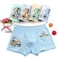 Junge Boxer 5 teile / los Baby Jungen Unterwäsche Kinder Höschen Cartoon Doraemon Taxi Auto Kind Unterhosen Baumwolle Shorts für Kinder SCHRITTE LJ200911