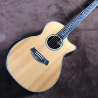 """Freies Verschiffen chaylor SP14 echten Abalone Folk-Gitarre, Zeder Sandelholz oben Rückseite und die Seiten, 41"""" ps14ce Modell"""