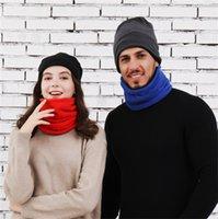 Polar de la mascarilla Hombres Mujeres skimask Deporte bufanda tubo Ciclismo bufanda caliente del sombrero del invierno Neckercheif 3 en 1 Ajustado F10901 Máscara sombreros de esquí