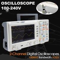 Dodbells 1100S 디지털 스토리지 오실로스코프 100MHz 2Channel 1GSA / S 휴대용 오스 칼로 스코프 7 인치 TFT 컬러 스크린 GK99