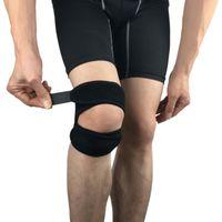 Cotovelo joelho almofadas 1 pcs suporte patela cinto elástico bandagem fita esporte cinta banda banda futebol esportes fitness cinta