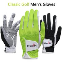 Luvas de golfe Homens Única mão esquerda respirável luvas de golfe antiderrapante