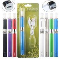 Ugo T inferior cigarro Carga Vape Pen Bateria eletrônica eGo BCC Kits com kit E Cigs MT3 vaporizador Tanque bloco de bolha