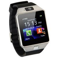 DZ09 Bluetooth Smart Watch 2G SIM-Telefon-Anruf mit Kamera-Screen-Armbanduhr Android Phones Handys Relógio inteligente Batterien