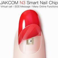 Jakcom N3 الذكية مسمار رقاقة جديد المنتج براءة اختراع من الساعات الذكية كما سوار ذكي CF006 الشمسية Haylou LS05
