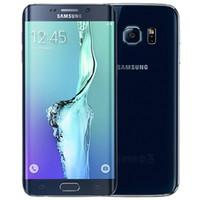 الأصلي تم تجديده Samsung Galaxy S6 حافة G925F 5.1 بوصة Octa الأساسية 3 جيجابايت رام 32 جيجابايت rom 16mp lte 4 جرام الهاتف dhl 10 قطع