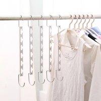 Cabides mágicos cabides Hanging Chain Corrente de aço inoxidável pano de pano cabide camisas Tidy salvar espaço organizador de espaços para roupas 136 g2