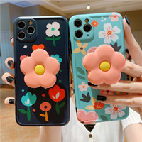 Rero Cute Flower Leaves Stand Holder Case For iPhone 11 11Pr...