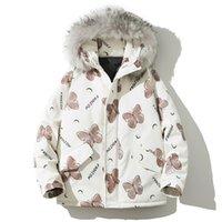Разборчивая зимняя куртка женщины Parkas большой мех с капюшоном толстая женская куртка теплый зимний пальто женщина плюс размер Y201012