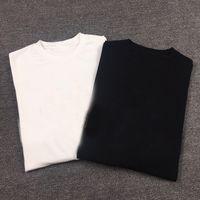 Carta colorida Moda Mens Camisetas Para Homem Algodão Novo Slim Fit Respirável Camisetas Homens 100% algodão Casual Mulheres Homens T-Shirts Tops S-4XL