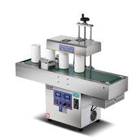 Máquina de selagem automática da folha de alumínio Indivição eletromagnética indução contínua do trabalho rápido do trabalho de vidro de vidro da garrafa de vidro