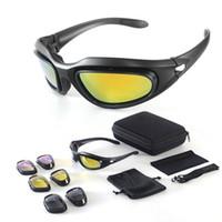 Daisy C5 kits óculos de sol Polarized Óculos de sol ciclismo óculos de sol deserto guerra tática óculos de motocicleta óculos