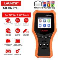 X431 CR-HD Pro 12v Auto 24 V Truck DianGnostic Tool Full OBD2 Code Reader Scanner Test della batteria PK CR3001 CR3191