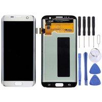 Galaxy S7 Kenar G9350 G935F G935A G935V G935FD G935W8 G935T G935U için Orijinal LCD Ekran Dokunmatik Panel
