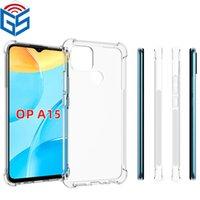 Für OPPO A72 5G A15 A5 Full Clear Handy Case Stoßdämpfung Weiche transparente TPU-Rückseite F19 A74 4G
