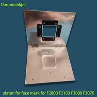 F2100 3 * 3 pulgadas platina para Epson SureColor F2000 F2130 F2160 F3000 F3070 DTG impresora para la impresión mascarilla