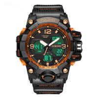 도매 스포츠 시계 남성용 아이들의 전자 시계 방수 다기능 폭발 모델 제조업체 명소
