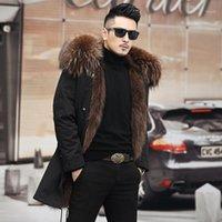 من بين 2021 رجل جديد أرسل للتغلب لفترة طويلة إزالة معطف الفرو المثانة للرجال الترفيه ملابس الشتاء 1