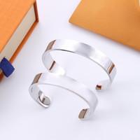 Designer armbänder paar schmuck titanium stahl liebe rose gold armband luxus einfache armreifen frauen männer schraubbrecher armbänder