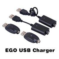 Sans fil eGo Long Short Stick Out USB Chargeur pour 510 Fil Préchauffage BUD tactile huile épaisse batterie eCigs Mods Piles
