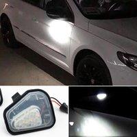 2ST Canbus LED Seitenspiegel Puddle-Lampe leuchtet für VW Volkswagen Jetta 10-15 / EOS 09-11 / Passat B7 2010 ~ / CC 09-12 / 09-14 Scirocco