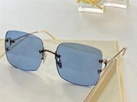 31514 Fashion Men Women Sunglasses Wrap Sunglasses Diamond Lenses Anti-UV Lenses Top Metal Legs Summer Style Top Quality Protective Cover