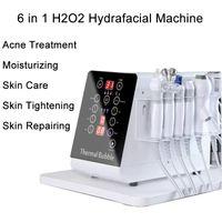6in1 Hydra Mikrodermabrazyon Hidro Dermabrazyon Cilt Bakımı Su Peeling Yüz Makine Hydrafacial Güzellik Salonu Ekipmanları 6 Kolları