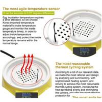 Mini 7 uova incubatore incubatore di pollame incubatore Brooder Digital Temperatura Acutching Machine Hatcher per pollo D Qylury Boddet