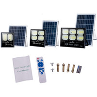 Solar led outdoor lighting 100w 300w solars garden lights Ha...