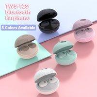 TWS T2S 무선 블루투스 이어폰 블루투스 5.0 헤드셋 귀 이어폰 6D 소음 취소 HIFI 사운드 이어폰 2021 New