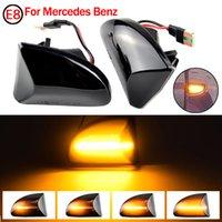 Side Marker CLIGNOTANTS Lumière pour Mercedes Benz Smart Fortwo Cabrio W451 Coupé 2007-2014 LED dynamique séquentielle Flasher Clignotants