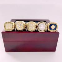 1984 1985 1987 1988 1988 1990 Edmonton Öler Stanley Cup Team Souvenir Champions Meisterschaft Ring Holzkiste Fall Fan Männer Geschenk 2020