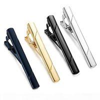 الرجال الرسمي النحاس المعادن الأزياء حك شريط التعادل مقاطع بسيطة ربطة العنق التعادل دبوس بار المشبك كليب المشبك دبوس للرجال هدية هدية هدية السفينة