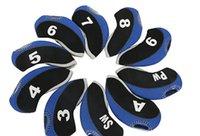 Новый гольф железный чехол, расширенная версия Club Cap Cover 10 магнитов / группа, долговечное, высокое качество и простые