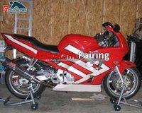 빨간색 흰색 오토바이 페어링 CBR600 97 98 Honda CBR 600 F3 CBR600F3 CBR 600F3 페어링 키트 1997 1998 오토바이 차체 사용자 정의