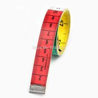 Nozioni di cucito Strumenti Tedesco Qualità Tape a nastro di colore Misura 59208 Sistema metrico Misurazione 1,5 metri di regole flessibile Abbigliamento personalizzato personalizzato