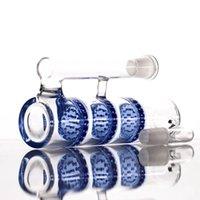 Оптовая продажа 14 мм 18 мм ашмаловарный тройной соты Perc apcatchers 18.8mm Размер суставов HC женские мужские стеклянные ясень