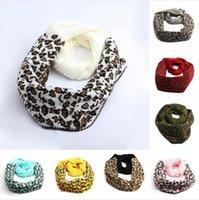 Yeni Moda Leopard Baskılı Örme Eşarp 9 Renkleri Kış Sıcak Eşarplar Kadın Açık Yumuşak Örgü Eşarplar Deniz Kargo DDA610