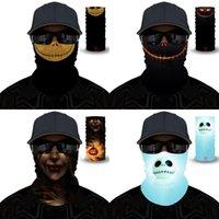 Hot Facemask Magic Sjaals Cartoon Kerstboom Polyester Ademend Lichte Maskers Party Mannen Vrouwen Hoofddeksels 6 5YL G2