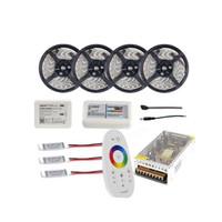 WIFI 20m wasserdichte LED-Streifen-Licht RGB RGBW RGBWW 5050 SMD Reel Tiras Lichter + RF-Fernbedienung + Netzteil-Adapter + Verstärker