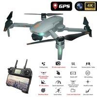 Дроны Wecute 2021 GD91 Pro 2-ось 120 градусов широкоугольный HD 4K Pixel GPS Drone Professional Dron Quadcopter VS SG906 Fimi Zino1