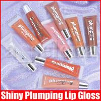 9 colores Labios Plumper Maquillaje Largo Duradero Labial Gloss Hidratante Volumen Volumen Plumador Brillante Brillo Sexy Oil Lipgloss