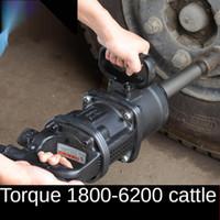 Power Tool définit Jackhammer Machine Pneumatique High Torque Camion Heavy Camion Automobile Réparation Automobile Tyr forte Impact Clé Tempête