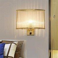 Loft luminaria hanglampen الزجاج الكرة حبل ممر نوم الممر cabecero دي كاما الجدار أضواء للمنزل جدار مصباح 1