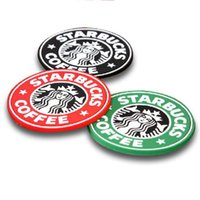 Silicone Coasters Cup Mat Cushion Holder Starbucks Sea- maid ...
