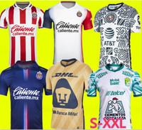 Liga MX 21 22 22 22 Club América Futebol Jerseys Leon Terceiro 2021 2022 México Léon Tijuana Tigres Unam Homens Crianças Chivas Cruz Azul 3rd Camisas de futebol