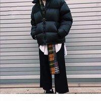 Mens retro nuptse jaqueta jaqueta bordado logotipo casual enorme inverno curto inverno para baixo jaquetas homens mulheres esportes ao ar livre streetwear 11 cores mg200287