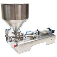 Fabrika doğrudan kolloid macun biber sosu fasulye yapıştırma karıştırma dolum makinası ekipman karıştırma şişe dolgu sıvıları su